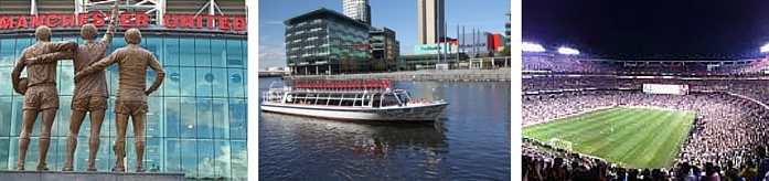 Boat trips to Old Trafford