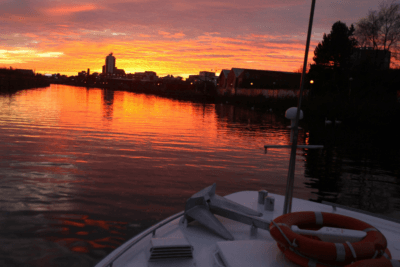 sunset boat trip manchester
