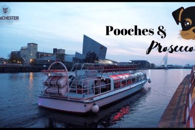 pooches & prosecco boat trip